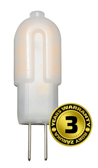 Solight LED žárovka G4, 1,5W, 3000K, 120lm WZ323