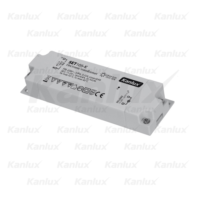 Transformátor 105W 12V SET105-K KANLUX 01426