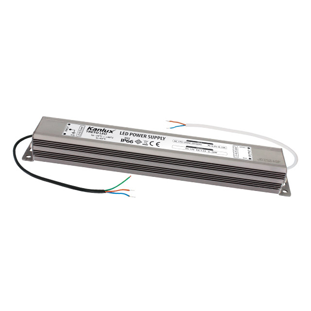 Transformátor 12V IP66 TRETO LED (0-30W ) KANLUX 07800